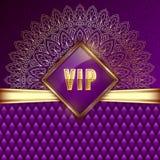 VIP card template Stock Photos