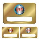 Vip cards royalty free illustration