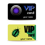 VIP cards Stock Photos