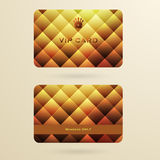 Vip cards. With the abstract background Stock Photography