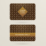 Vip cards Royalty Free Stock Images