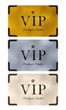 VIP cards with abstract background Royalty Free Stock Photos