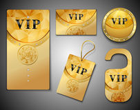 Vip cards design template Stock Images