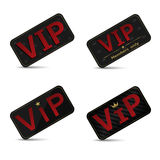 Vip cards. Vector Vip members only cards on the white background Royalty Free Stock Image