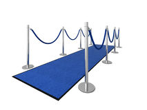 VIP carpet - Side view Royalty Free Stock Images
