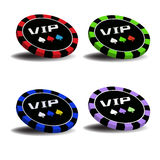 VIP chips Stock Image