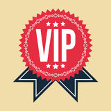VIP Classic Vintage Badge Stock Images
