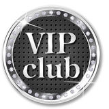 VIP club banner Royalty Free Stock Image