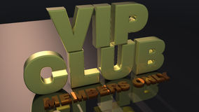 VIP club Royalty Free Stock Photos