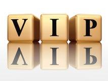 VIP con la reflexión Foto de archivo libre de regalías