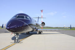 VIP corporate jet Stock Photography