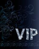 VIP de kaart van de Diamantuitnodiging Stock Fotografie