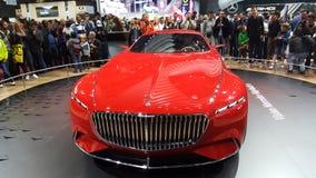 VIP de Mercedes Benz Limosine Imagens de Stock