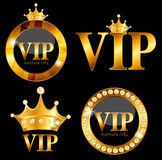 VIP de Vectorillustratie van de Ledenkaart Royalty-vrije Stock Foto's
