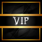 VIP design. Royalty Free Stock Photography
