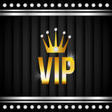 VIP design. Royalty Free Stock Photos