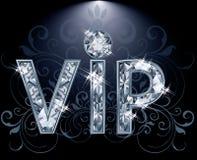VIP Diamond card Stock Photos