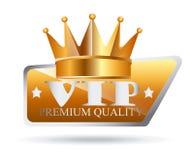 Vip emblem Stock Image
