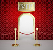 Vip entrance Stock Image