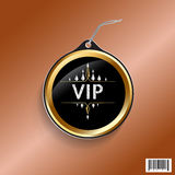 VIP exclusive luxury tag design Royalty Free Stock Photography