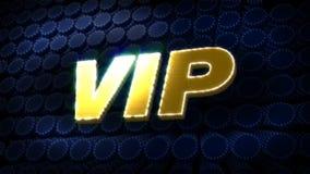 VIP Glitz Sparkle Text stock footage