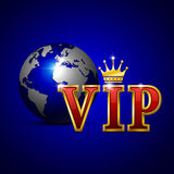VIP gold letters. Stock Photography