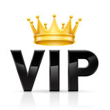 VIP Golden crown Royalty Free Stock Photo