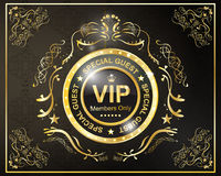Vip golden frame Royalty Free Stock Photography