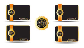 VIP Golden Labels vector illustration
