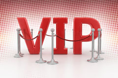 VIP In Halftone Background Royalty Free Stock Image