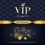 VIP het ontwerp van de achtergrond uitnodigingspremie malplaatje Royalty-vrije Stock Foto's