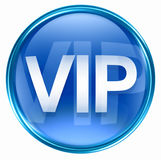 VIP icon blue Stock Photography