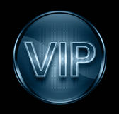 VIP icon dark blue. Royalty Free Stock Photo