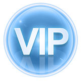 VIP icon ice Royalty Free Stock Photo
