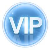 VIP icon ice Royalty Free Stock Photo