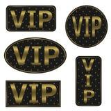 VIP icons Royalty Free Stock Photos