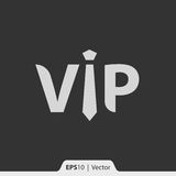 VIP ikona dla sieci i wiszącej ozdoby Zdjęcia Royalty Free