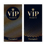 VIP invitation card premium design template. Royalty Free Stock Photo