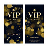 VIP invitation card premium design template. Stock Images