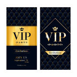 VIP invitation card premium design template. Stock Image