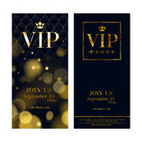 VIP invitation cards premium design templates Royalty Free Stock Image