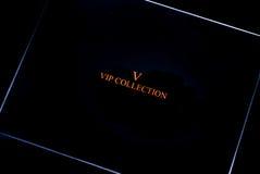 Vip inzamelingsdoos royalty-vrije stock foto's