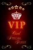 VIP Kaart Royalty-vrije Stock Foto's