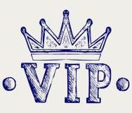 Vip korony symbol ilustracji