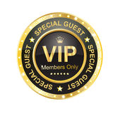VIP Label. Shinny blink vip label with eps file Royalty Free Stock Image