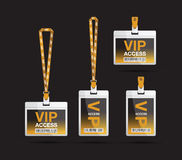 Vip lanyard Stock Photos