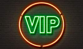 VIP longue neon sign Stock Photos