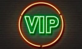 VIP longue neon sign Stock Photos