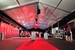 VIP lounge of Audi Fashion Festival 2011 Royalty Free Stock Image