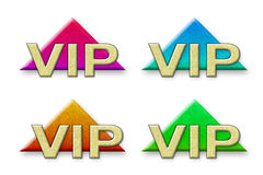 Vip made ​​of paper Stock Image